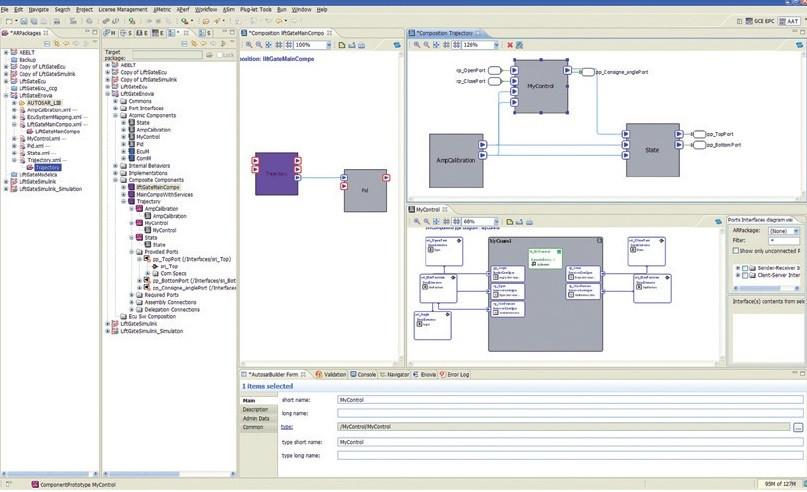 AutosarBuilder logiciel creation test AUTOSAR   DPS partenaire Dassault