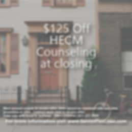 HECM Counseling Discount Coupon
