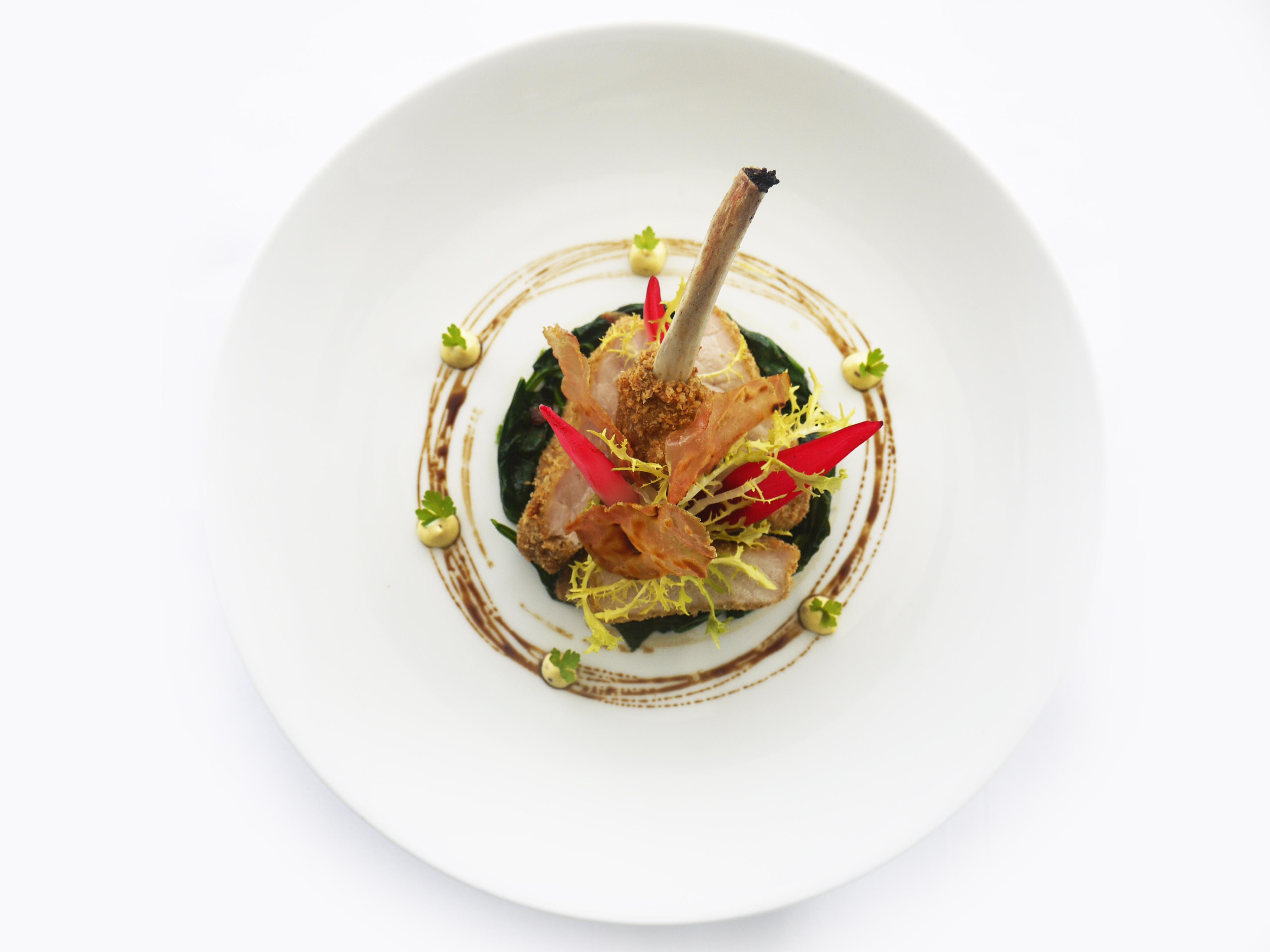 ilLido - AUTUMN 2014 Kurobuta Pork Chop Milanese with Shallot G