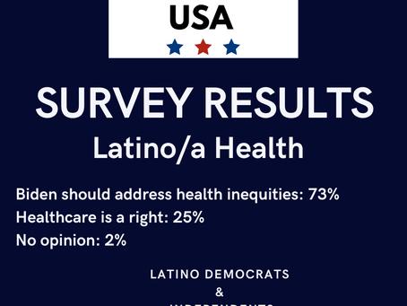 SURVEY RESULTS: Latina/o Health