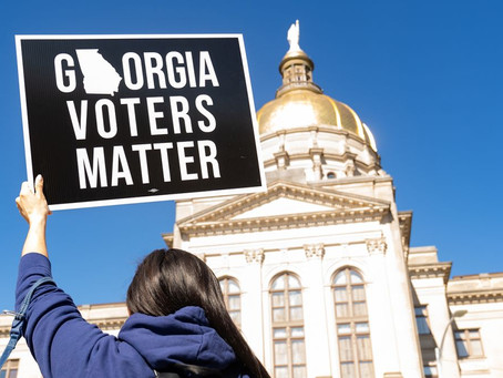 The 16 Things That GA Law Does To Slow Minority Voting