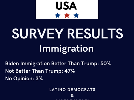 Your Voice: Survey Results - Biden Better Than Trump on Immigration!
