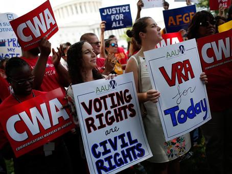 Biden: Right to Vote in Danger