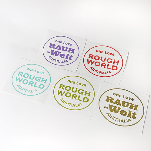 RWB Sticker seti