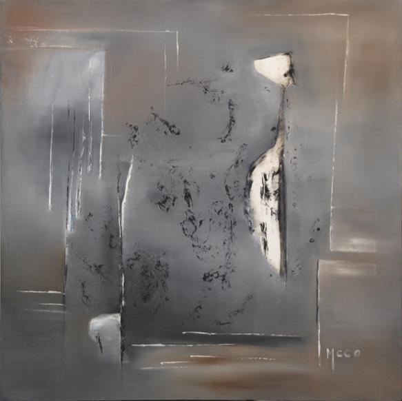 Ici et Là (80x80) - Vendue