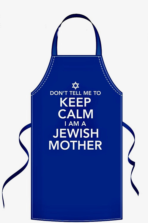 """Keep Calm... Jewish Mother"" Apron"