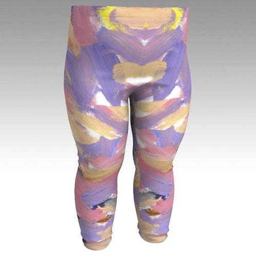 """Sally's Colors"" Baby Leggings"