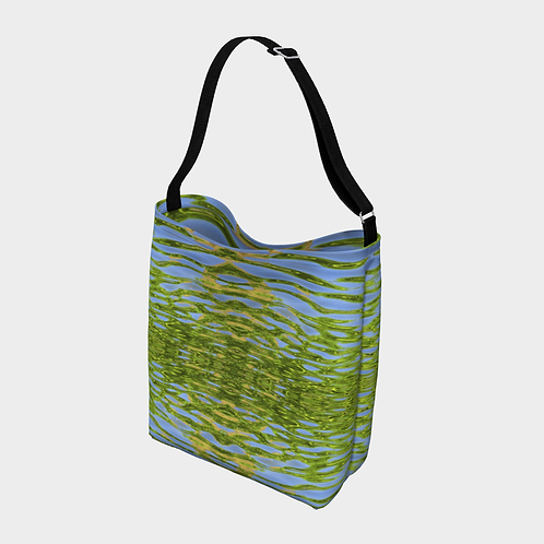 """Reflecting Leaves"" Totebag"