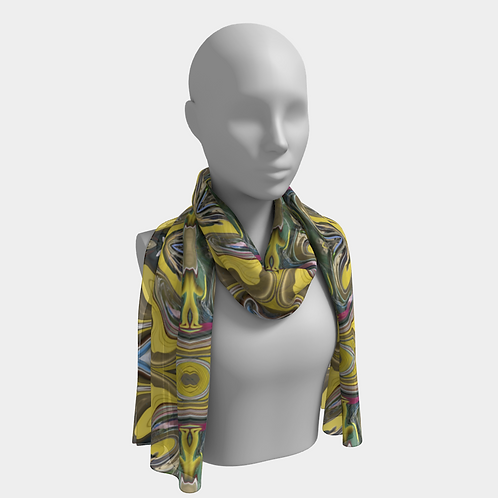 """Melting Wave"" 16x72 Scarf by Ryan"