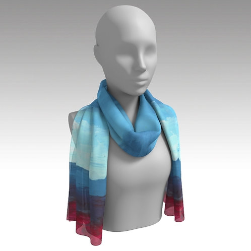 """Colorful in Character"" Long Scarf"