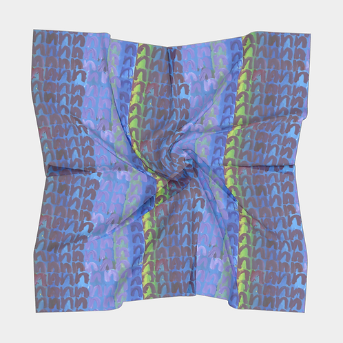 """""""Fair Square and Seven N's"""" Square Scarf"""