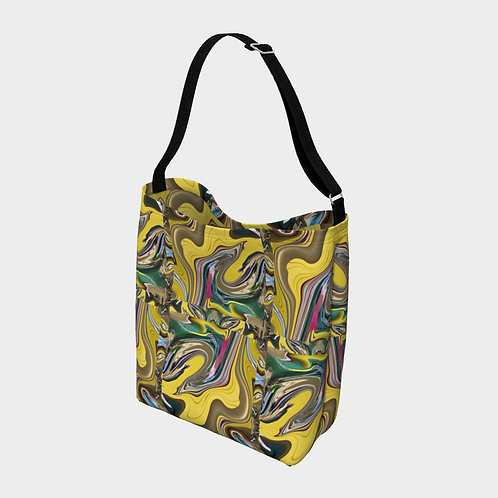 """Melting Wave"" Crossbody Bag"