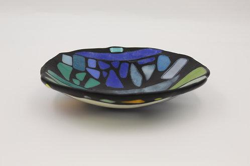Handmade Glass Fused Bowl