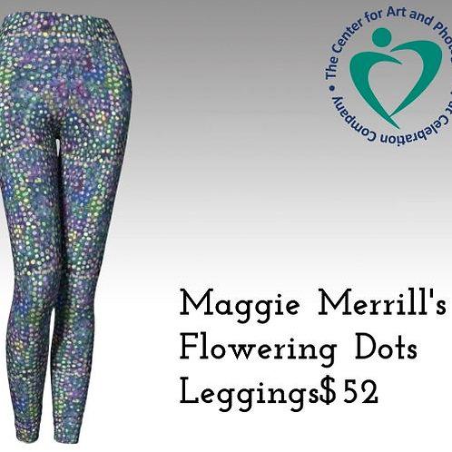 """Flowering Dots"" Leggings"