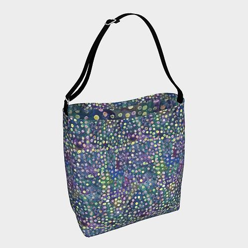 """Flowering Dots"" Crossbody Bag"