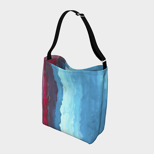 """""""Colorful in Character"""" Crossbody Day Tote"""