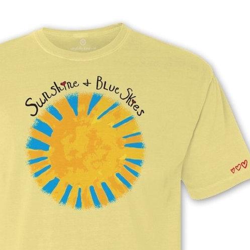 Candidly Kind- Sunshine & Blue Skies T-Shirt