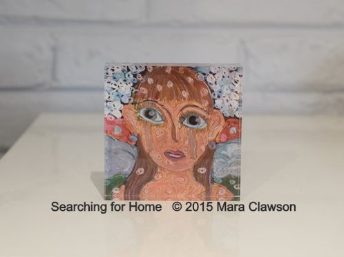 Searching for Home Acrylic Block