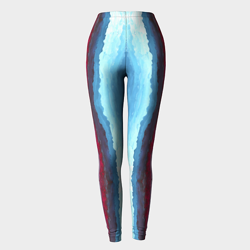 """Colorful in Character"" Leggings"