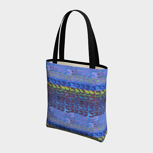 """""""Fair Square and Seven N's"""" Lined Totebag"""