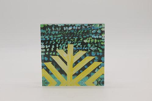 """""""The Menorah"""" Acrylic Block"""