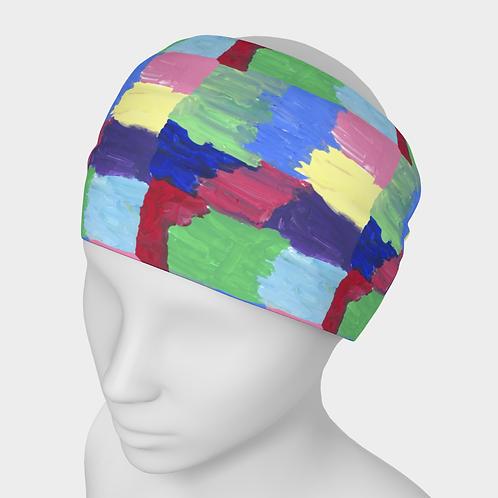 """Squared Rainbow"" Headband"