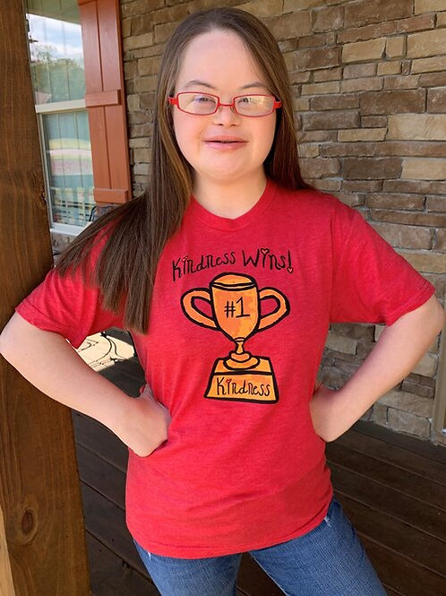 Candidly Kind- Kindness Wins T-shirt