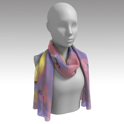 """Sally's Colors"" Long Scarf"