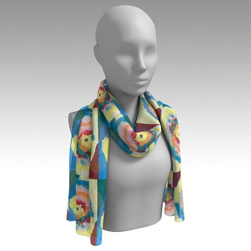 """""""Different Colors"""" Long Scarf"""