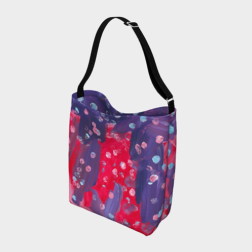 """Excited Sundaes"" Crossbody Bag"