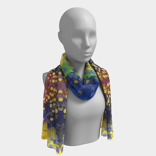 """Raining Colors"" Scarf by Halley"