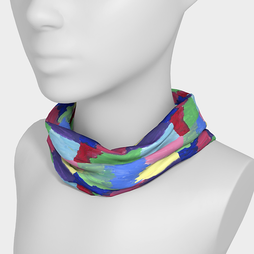 """Squared Rainbow"" Headband by Molly"