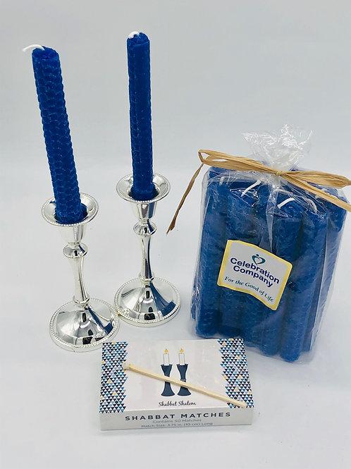 """Vote Blue"" Shabbat Candles"