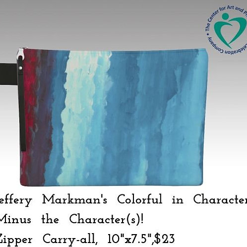 """Colorful in Characters..."" Carryall"
