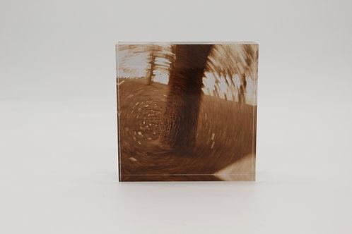 """Something's Coming"" Acrylic Block"