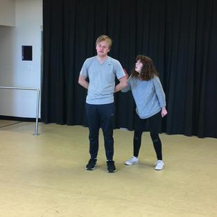 Stage Combat Scene-Comedy of Errors