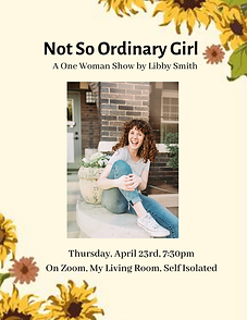 One Woman Show Flier