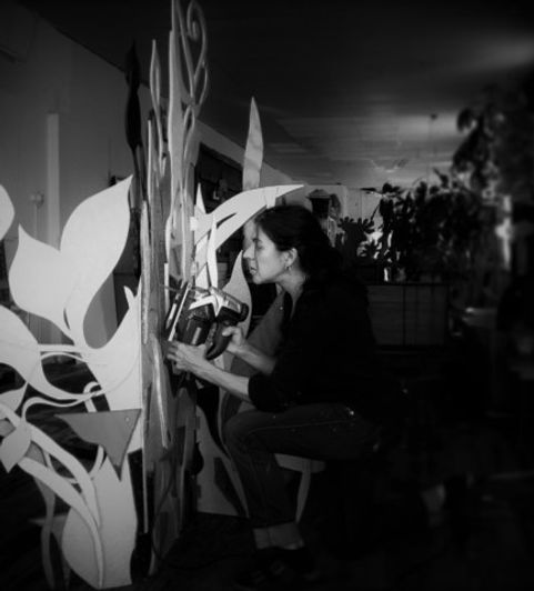 Artist Teresa Bosko
