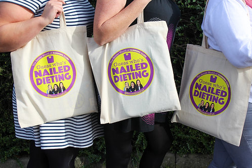 Guess Who's Nailed Dieting Tote Bag