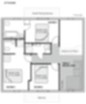 Floor plan - 2nd floor - Chalet Isobel