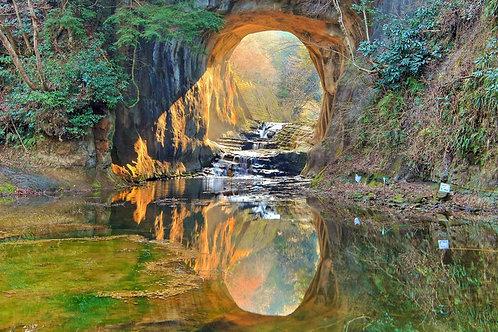【6人成團】千葉天空之鏡、鋸山、濃溝瀑布 奇幻秘景遊 2天1夜