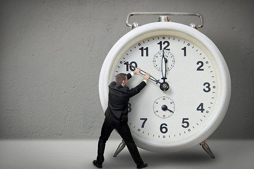 Time-stop posez votre abonnement 2 x 1 mois/année