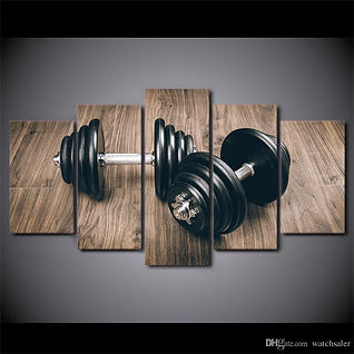 hd-printed-5-piece-canvas-art-fitness-gy