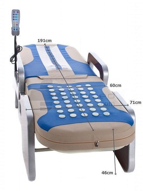 Cette table de massage combine la technologie d'avant-garde avec une série de