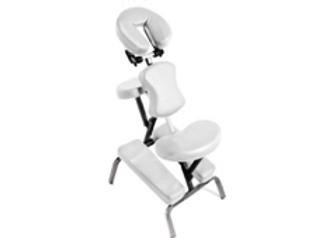 Chaise métallique pour thérapie et massage avec accessoires et sac de transport