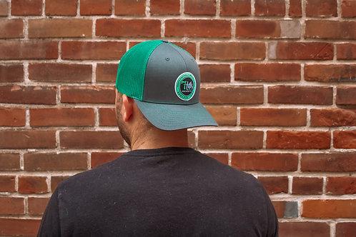 Green/Grey Trucker Hat