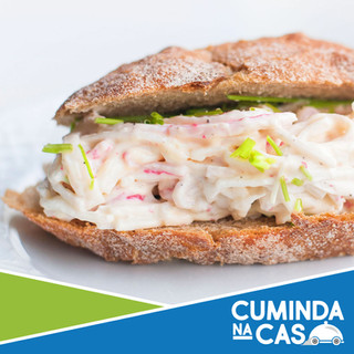 Sandwich Crab Salad