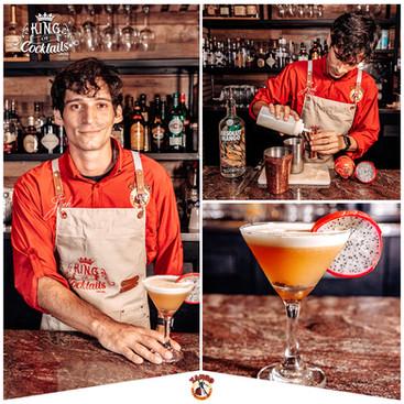 Brandon Montes - Dragon Passion Martini