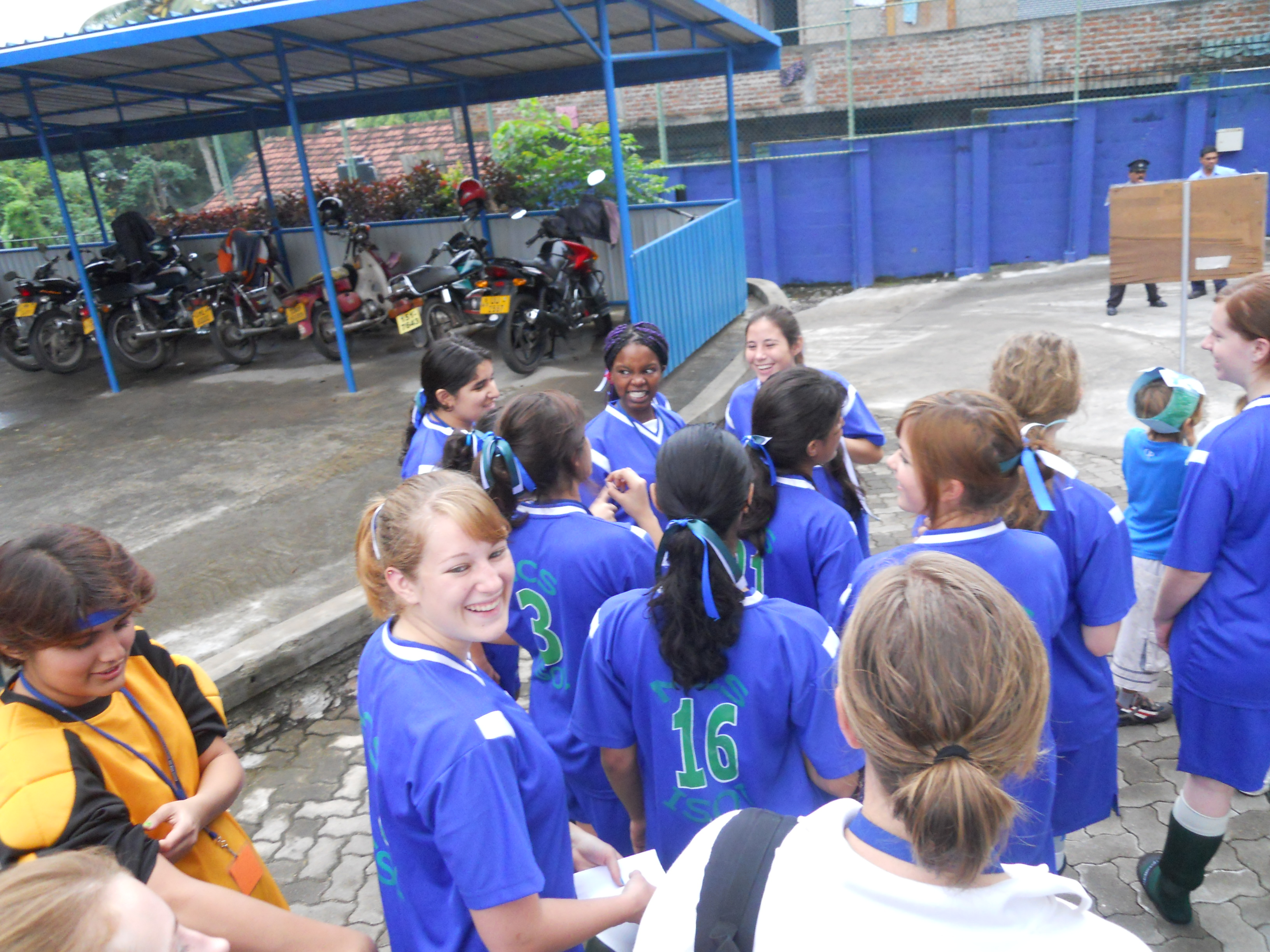 Girl's Football - Sri Lanka 2011