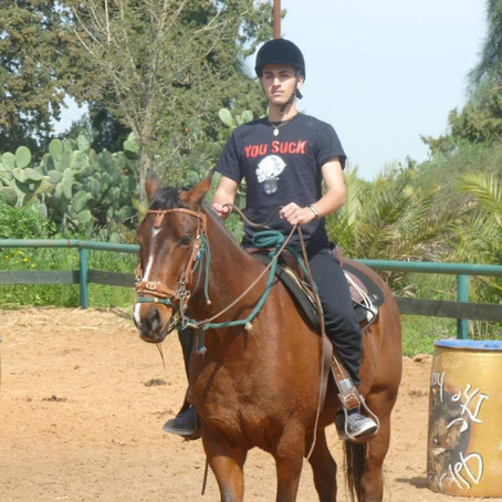 עשורולדת להיכרות שלי עם סוסים! וכך זה התחיל